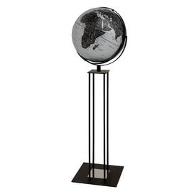 image-World Trophy Globe Ebern Designs Colour: Matt silver