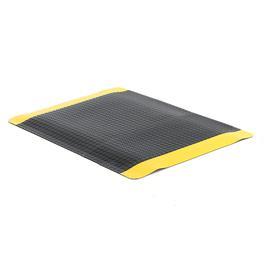 image-Heavy-duty anti-fatigue mat SUPER PLUS, per metre, W 1220 mm, black, yellow