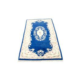 image-Retherford Hand Hooked Wool Blue Outdoor Rug Astoria Grand