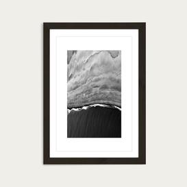 image-Black Ocean Art Print Black Frame