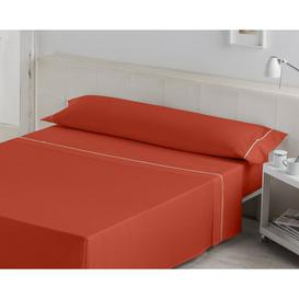 image-Adelaide 144 Thread Count Sheet Set Ebern Designs Size: Kingsize (5'), Colour: Earth