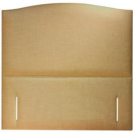 image-Upholstered Headboard Ophelia & Co. Colour: Biscuit, Size: Double (4'6)
