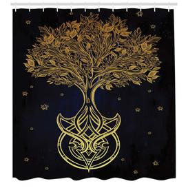 image-Tree Shower Curtain East Urban Home Size: 220cm H x 175cm W