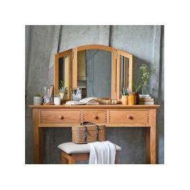 image-Milton Oak Dressing Table Mirror