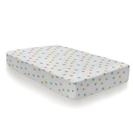 image-Happy Stars Fitted Cot Sheets Cosatto