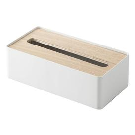 image-Case Tissue Box Cover Yamazaki Colour: Natural