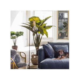 image-Faux Potted Banana Plant