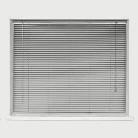 image-Sheer Venetian blind Ebern Designs Finish: Silver, Size: 210 cm L x 75 cm W