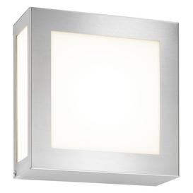 image-Outdoor Armed Sconce with Motion Sensor CMD Fixture Finish: Light Grey