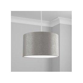 image-Made to Order 40cm Cylinder Shade Kensington Dove