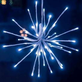 image-45 Outdoor Animated 4 Christmas Sparkle Ball Lights Mains 30cm