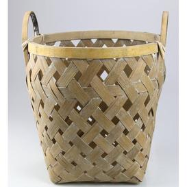 image-Natural Wicker Basket (Set of 2) Bay Isle Home Size: 29cm H x 27cm W x 27cm D
