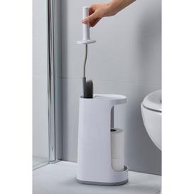 image-Joseph Joseph Flex Plus Toilet Brush with Storage