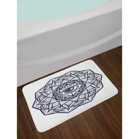 image-Verasha Rectangle Bath Mat Bloomsbury Market