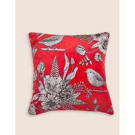 image-Christmas Robin Foil Cushion