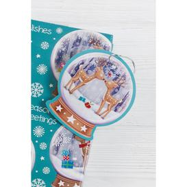 image-Pack of 10 Snow Globe Gift Tags