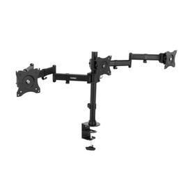 "image-""Articulating Arm Universal Pole Mount for 20""""-27"""" Flat Panel Screens VonHaus"""