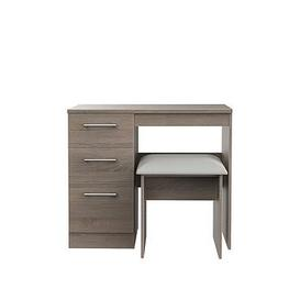 image-Swift Halton Ready Assembled Dressing Table And Stool Set