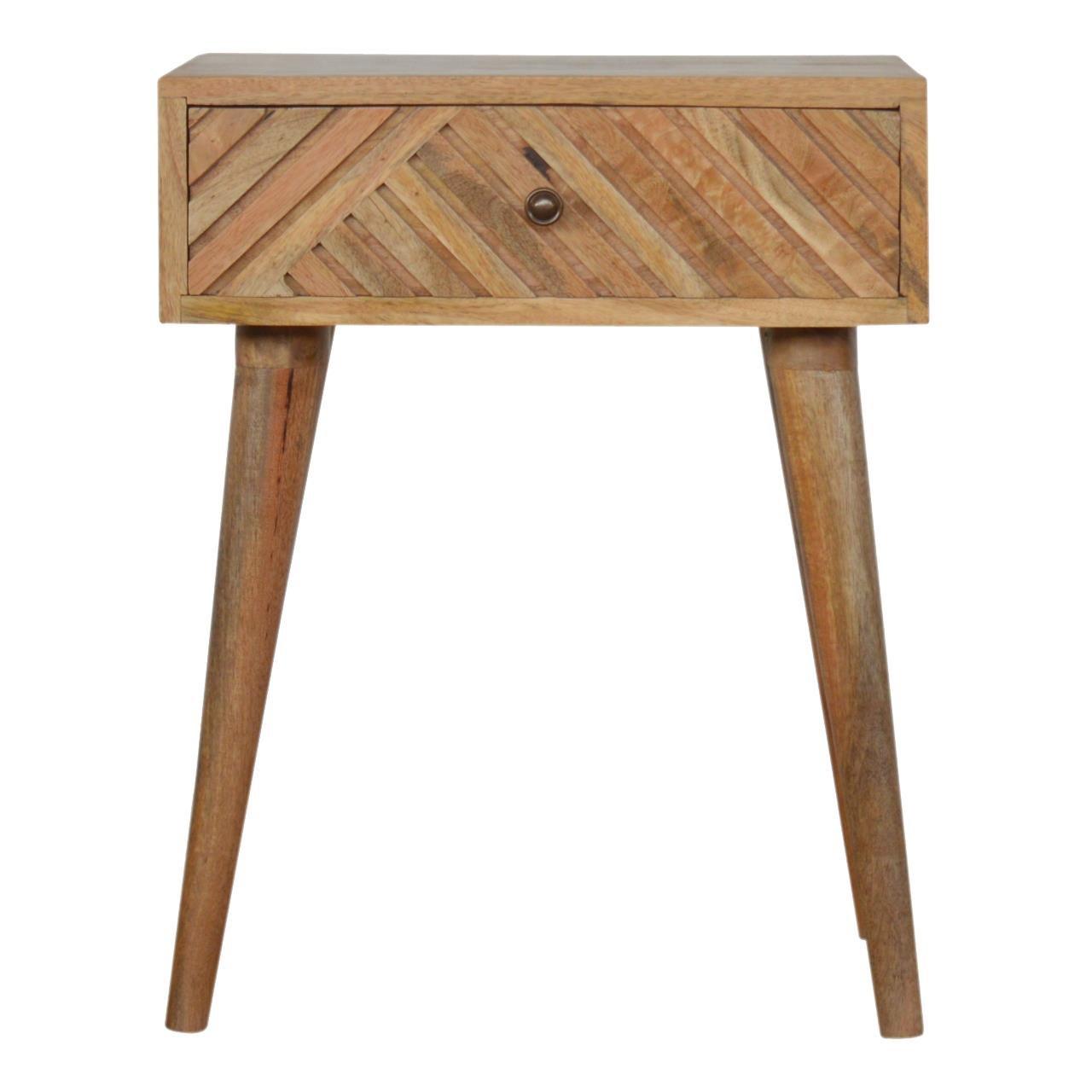 image-Linea 1 drawer bedside table