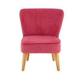 image-Premier Housewares Mia Kids Chair - Pink Velvet