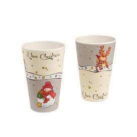 image-I Love Christmas 2 Piece Coffee Mug Set Goebel