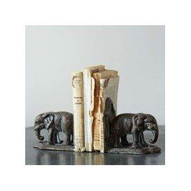 image-Elephant Bookends