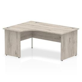 image-Zetta L-Shaped Executive Desk Ebern Designs Size: 73 x 160 x 80, Orientation: Left Orientation