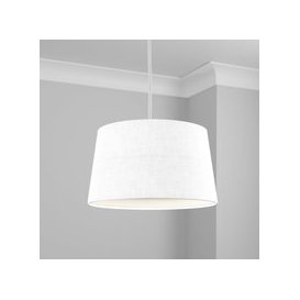 image-Made to Order 40cm French Drum Shade Linoso Polar
