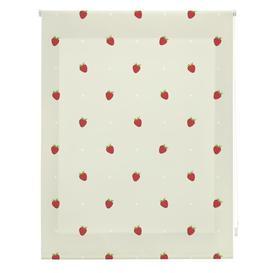 image-Kitchen Strawberries Sheer Roller Blind Ebern Designs Size: 150cm W x 250cm L