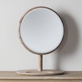 image-Gulfport Round Dressing Table Mirror August Grove