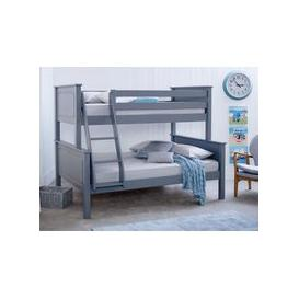 image-Star Ultimate Ashley Triple Sleeper Bunk Bed,Grey