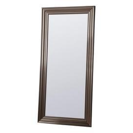 image-Erskine Pewter 167x81cm Leaner Mirror Silver