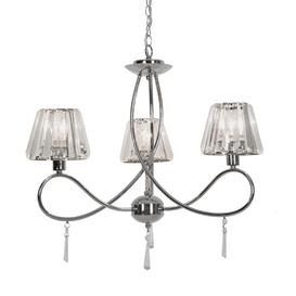 image-Edenburg 3-Light Shaded Chandelier ClassicLiving