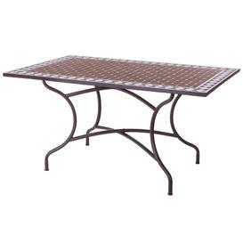 image-Sanjuana Vitrified Metal Dining Table Sol 72 Outdoor
