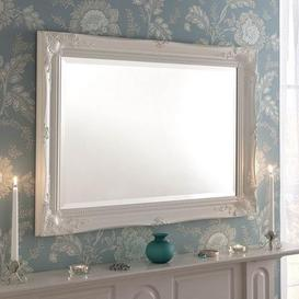 image-Yearn Baroque Mirror White White
