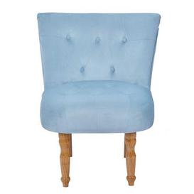 image-Lydia Occasional Fabric Chair Blue