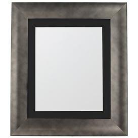 image-Adam Picture Frame Fairmont Park Colour: Pewter/Black, Size: 49.64cm H x 39.48cm W x 2.5cm D, Photo Size: 30.48cm H x 20.32cm W