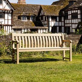 image-Alexander Rose Garden Furniture Roble St George Bench 6ft