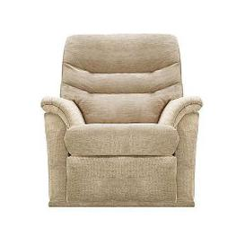 image-Malvern Fabric Manual Recliner Armchair