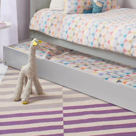 image-Pull out Trundle in Grey Spacesaver Bed