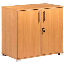 image-Marjorie Office 2 Door Storage Cabinet Zipcode Design Colour: Natural