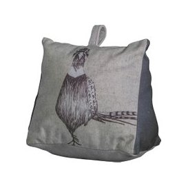 image-Grey Pheasant Doorstop