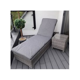 image-Harbo Verona Sunlounger with Cushion