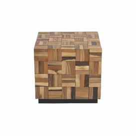 image-Digiovanni Side Table Union Rustic