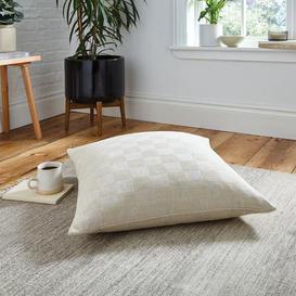image-Parker Weave Floor Cushion Natural