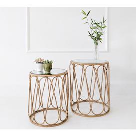image-Bamboo Hues Side Tables
