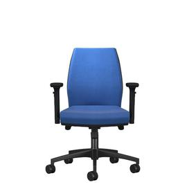 image-Godin Ergonomic Mesh Desk Chair Ebern Designs Upholstery: Blue, Arms: 3D Adjustable