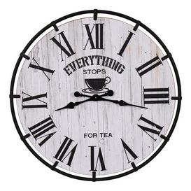 image-Oversized Exmore 81.5cm Wall Clock Williston Forge