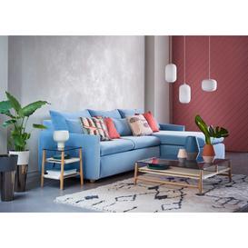 image-Heal's Pillow Medium Right Hand Corner Chaise Sofa Bed Capelo Linen-Cotton