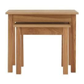 image-Hasting 2 Piece Nest of Tables Highland Dunes
